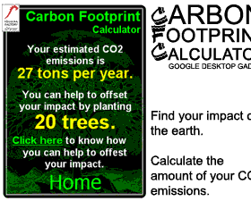 google carbon calc.